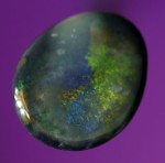 0.5ct Black Opal