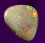 1.ct Semi Black Opal